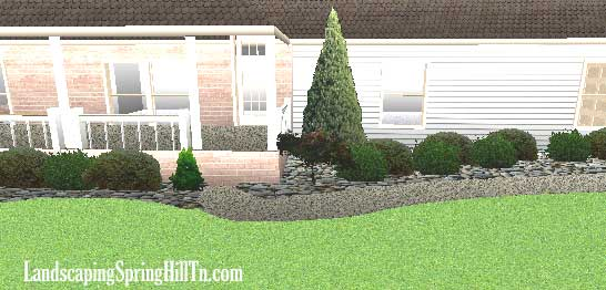 Landscaping spring hill tn for Springhill designs